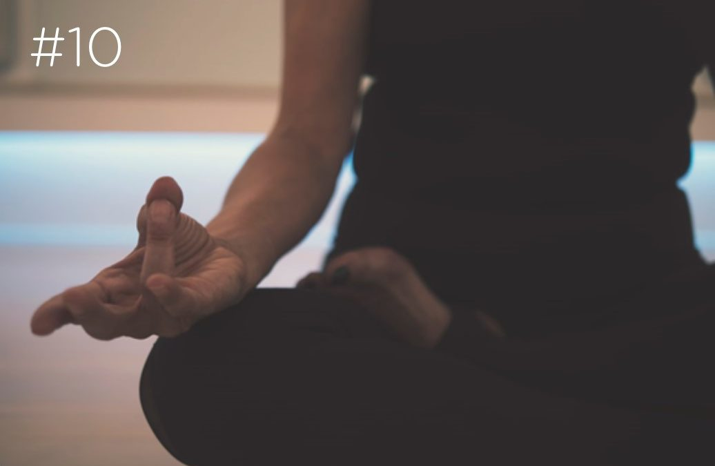 Já experimentou fazer yoga?