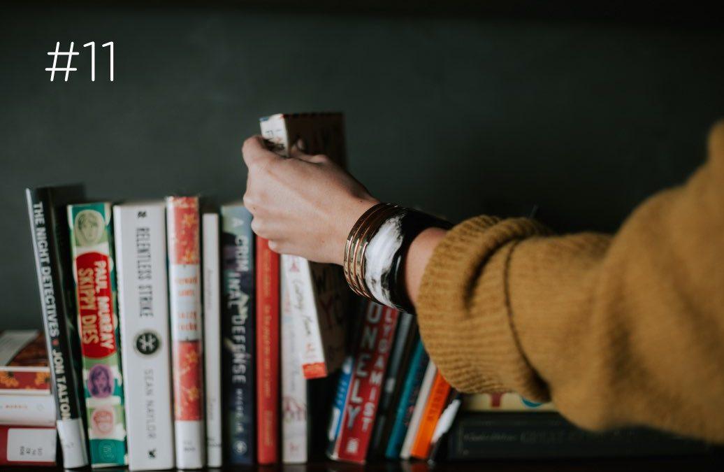 Crie um clube de leitura!